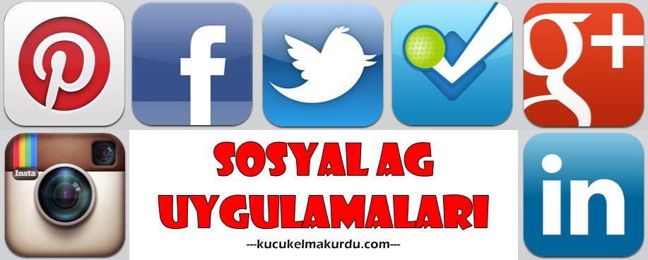Sosyal ağ uygulamaları