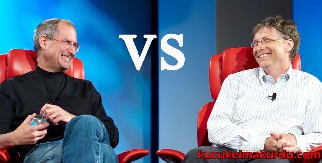 steve jobs and bill gates Steve jobs: steve jobs 2010-ben az iphone 4-gyel:  a konkurencia-egyezség miatt az apple fejlesztések szóba se jöhettek jobs felkereste bill gates-et,.